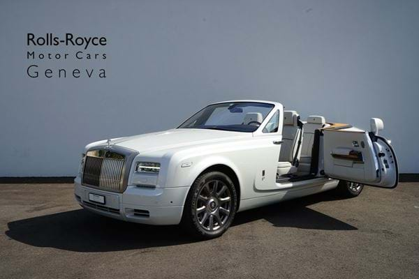 Rolls-Royce Phantom Drophead Coupé Series II Andalusian White