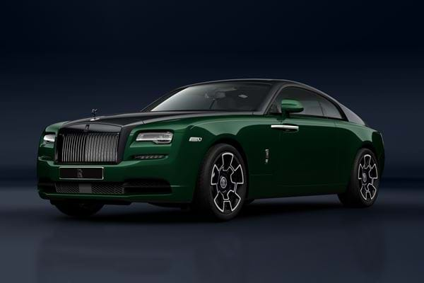 Wraith Black Badge 2020 Dark Emerald & Diamond Black (Available soon)