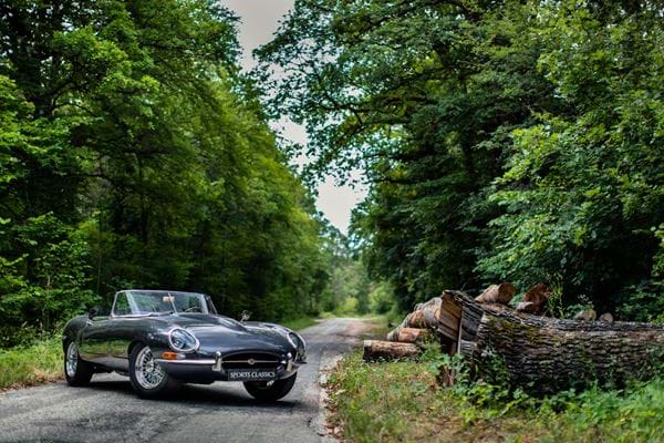 Jaguar E Type Roadster 3.8l