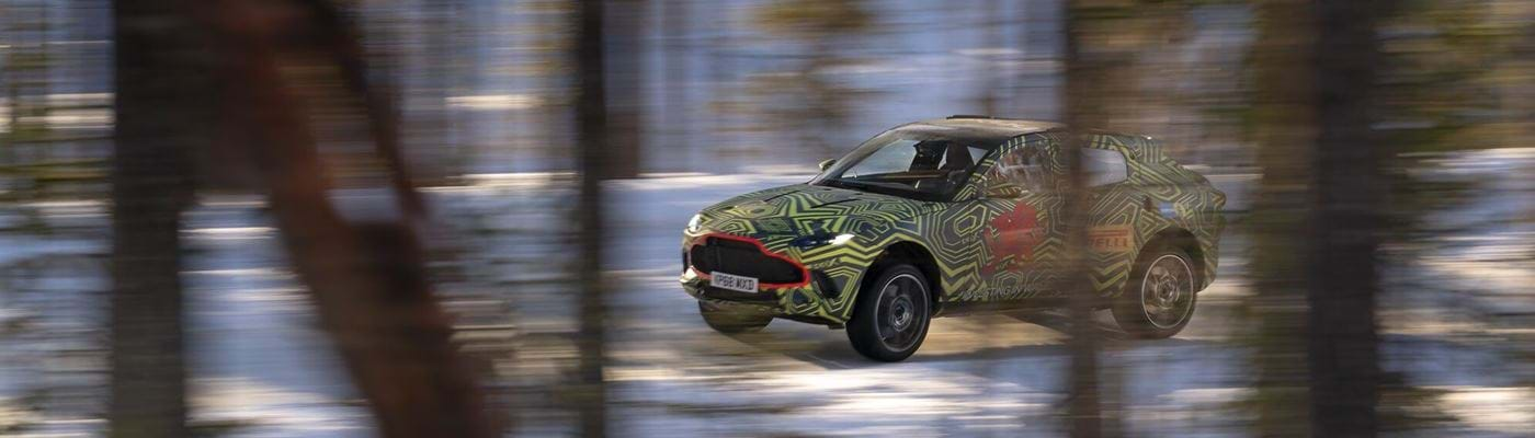 Discover the first Aston Martin SUV - DBX