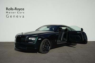 Wraith Black Badge 2020 Dark Emerald & Diamond Black