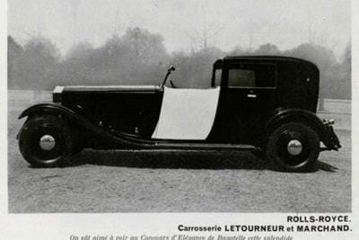 Rolls-Royce Phantom II Coupe de Ville by Letourneur & Marchand