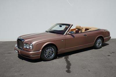 Rolls-Royce Corniche V End of Line