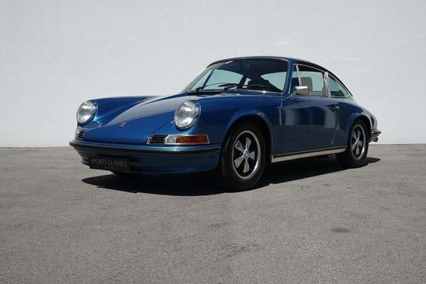 Porsche 911 2.4 S Oil Klappe