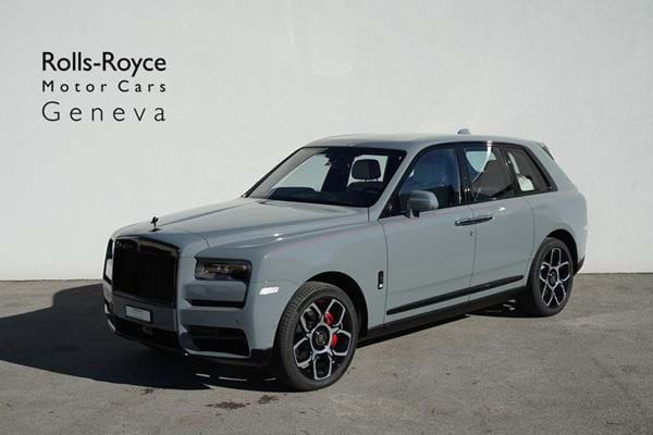 Cullinan Black Badge MY21 Burnout Grey (Available!)