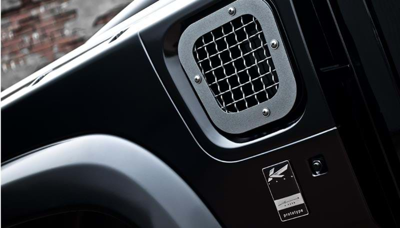 Land Rover Exterior Components