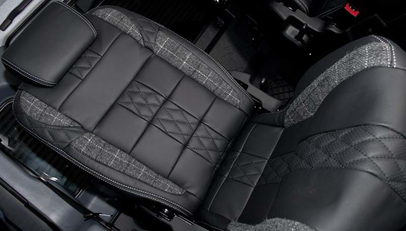 Land Rover Leather Interiors