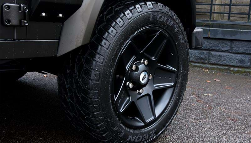 Land Rover Lightweight Wheels