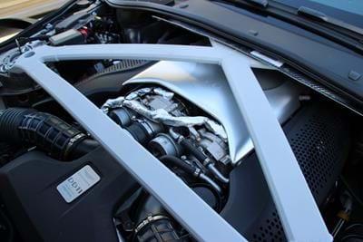 DB11 V8 Quantum Silver