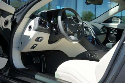 DB11 V12 Magnetic Silver with Ivory interior